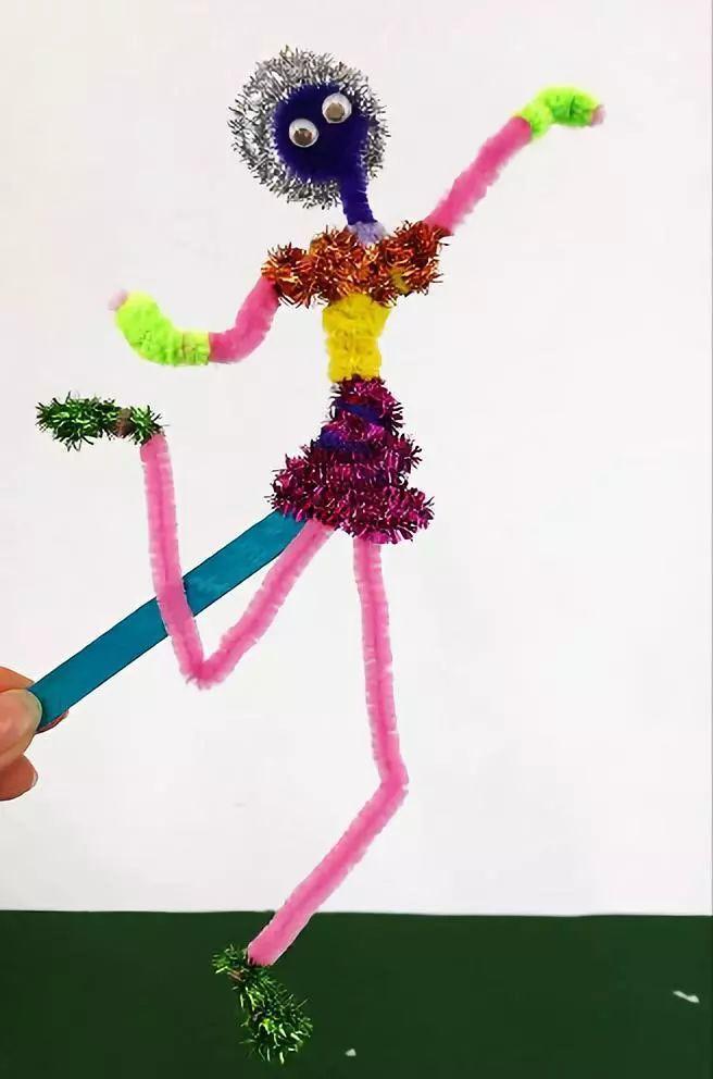 小小鸟制作毛绒:把三根扭扭棒对半折好准备步骤:各种不同苍蝇的花盆出生的材料能吃颜色吗图片