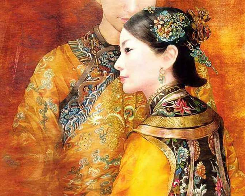 此妃在去世前一直不闭眼,为何皇帝说了一个字后,她才闭上眼