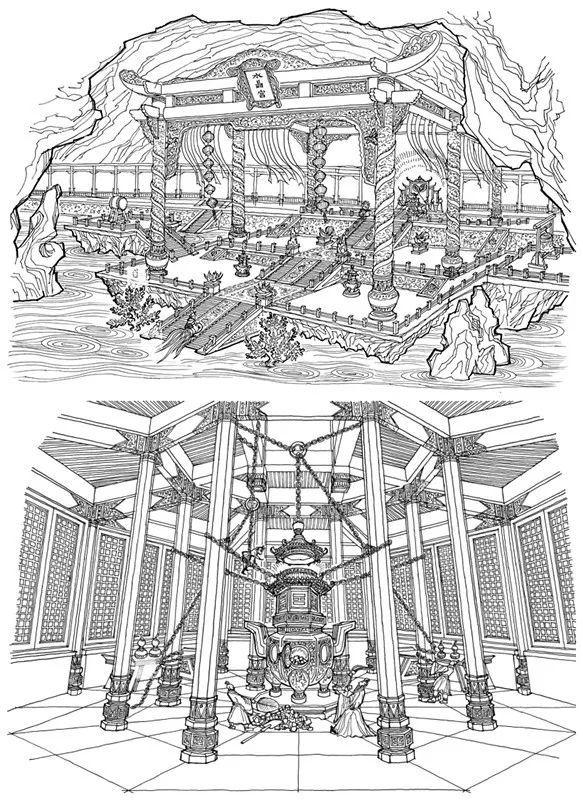 """电影界的""""大神"""",他的手绘图,让建筑师的自愧不如!"""