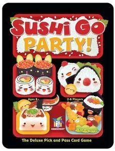 十大轮抽桌游② | 《Sushi Go!/Party》