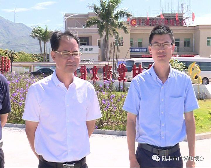 头条!万科公司到陆丰市金厢镇考察乡村振兴建设项目!