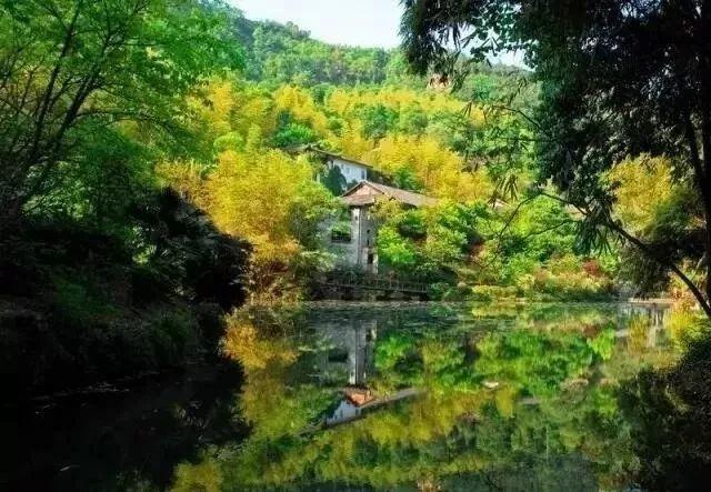 桃花源分布着众多园林式为主民俗,以川东风格建筑,具有浓郁的群落民居手把手tensorflow图片