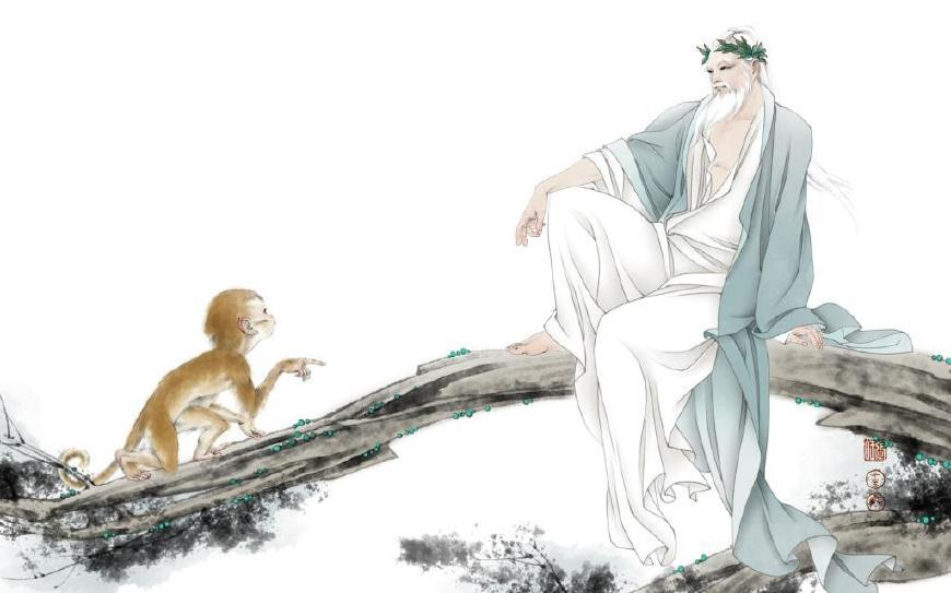 个性女宝宝名字西纪行第二回菩提老祖犯的这个错值得我们所有人留意