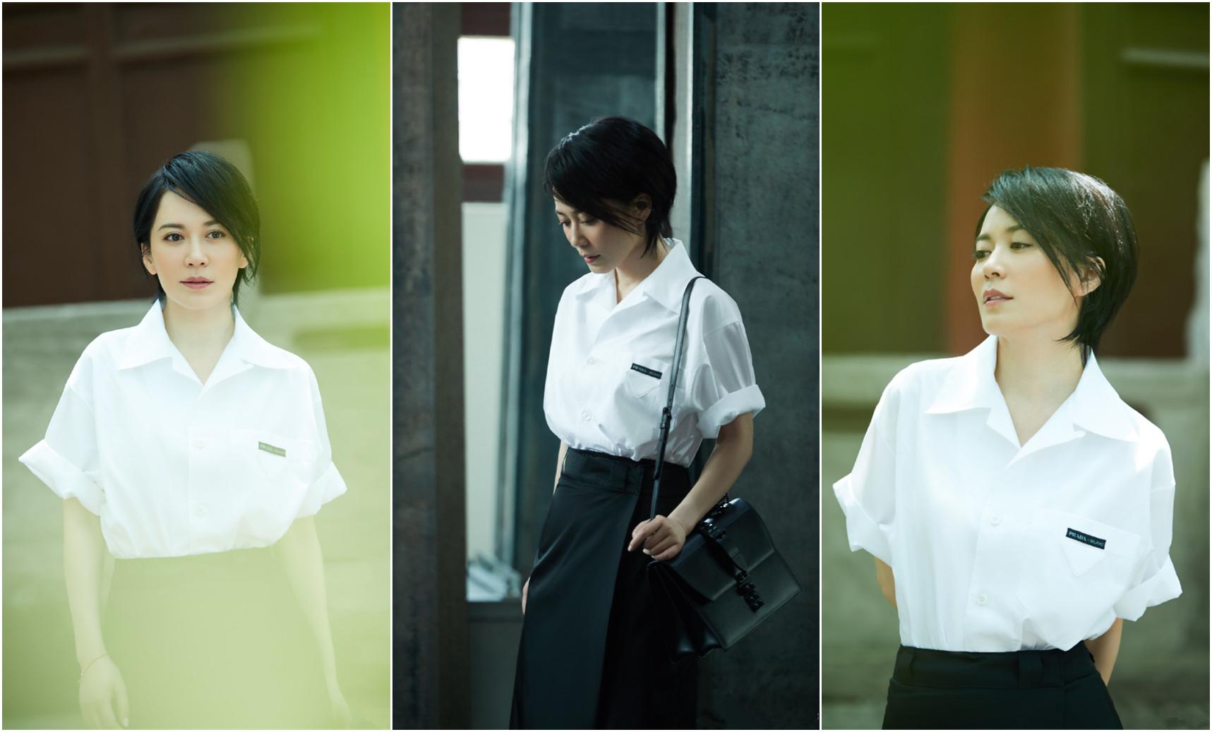 """今年夏天""""老爸风""""衬衫火了,俞飞鸿刘诗诗都在穿,遮肉又时髦"""