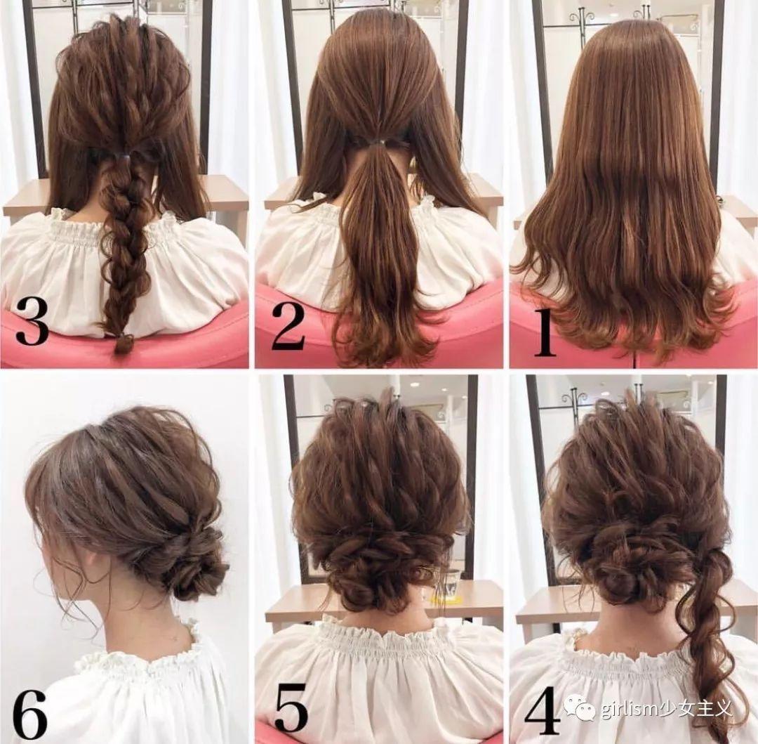 单马尾结合编发小技巧也会让发型的精致度更上一层楼.