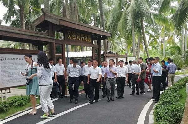 海南省人大常委会赴文昌开展美丽乡村建设专题调研环保世纪行活动