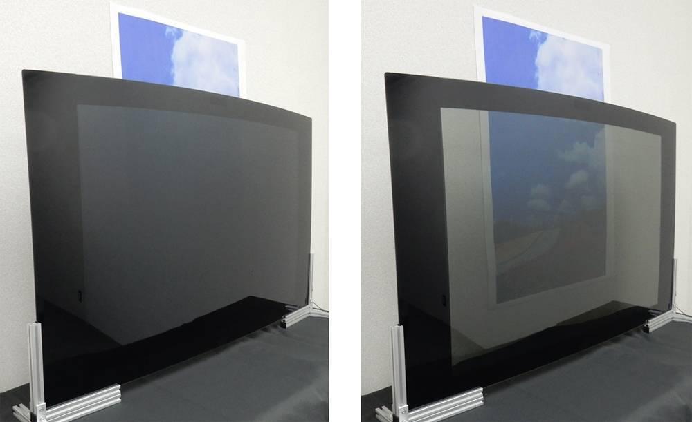 调光膜的原理_智能调光玻璃工作原理 高科技玻璃奇葩 智能调光玻璃