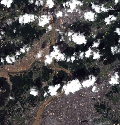 DigitalGlobe发布日本洪灾地区高分辨率卫星图像,以助力灾害救援工作-智慧城市网