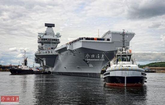 """英国海军也要回归印太? """"形象工程"""" 恐力有不逮"""