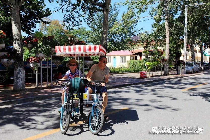 想起那片海【北戴河2014】骑脚踏车的风景之那片蔚蓝海