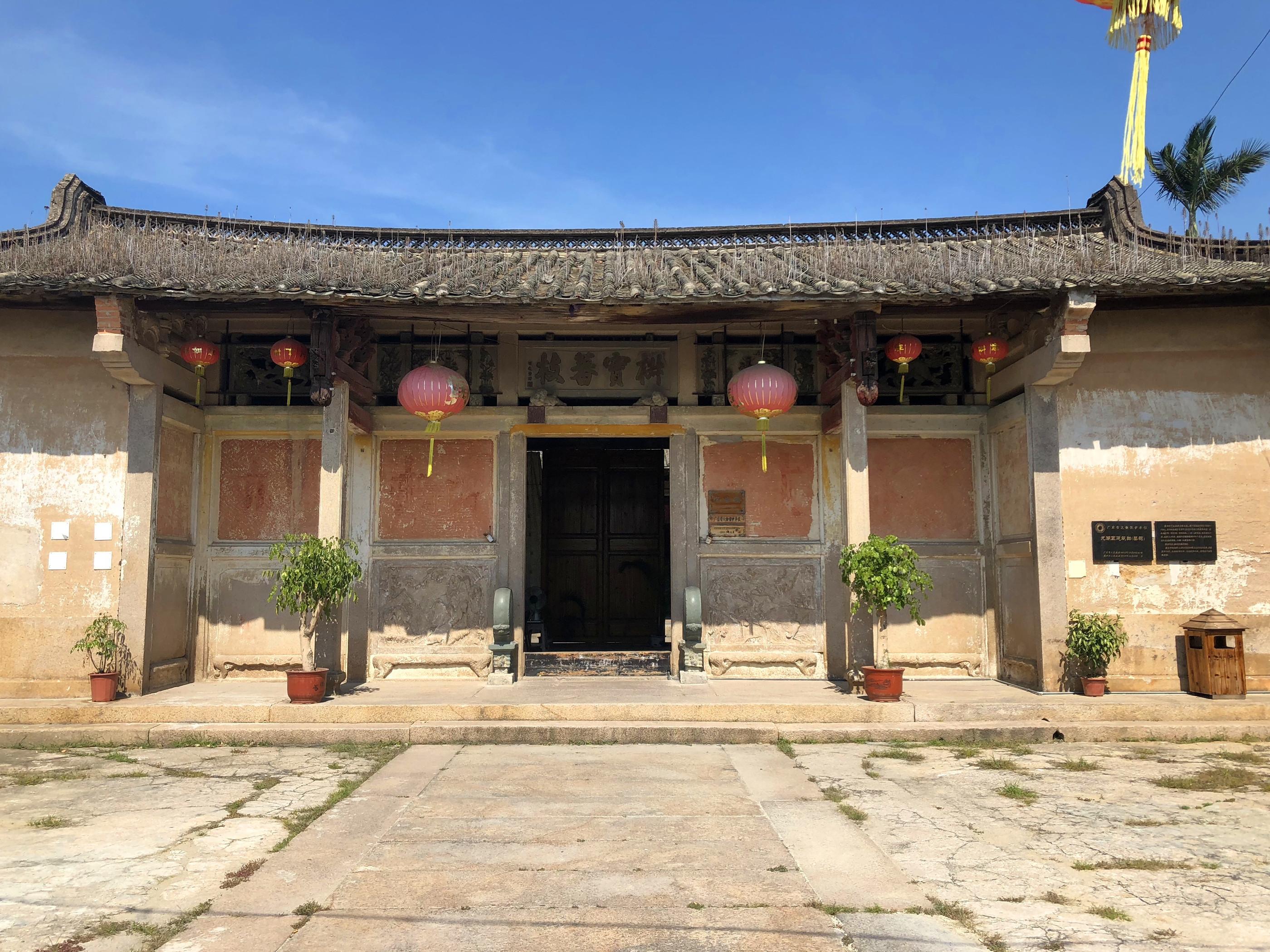 广东这座倡导男女平等的古建筑,也是善心孝心的彰显