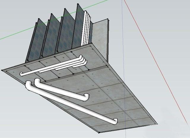 鱼池的设计图和鱼池系统规划图实例!图片