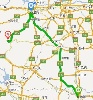 高速免费到栾川,河南18地市图片