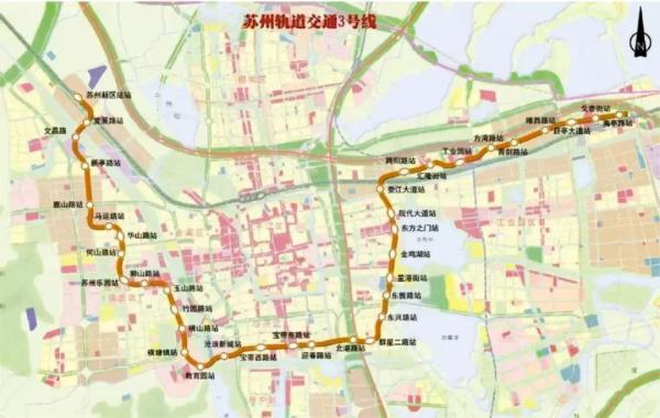 文昌路站 换乘苏州地铁3号线图片