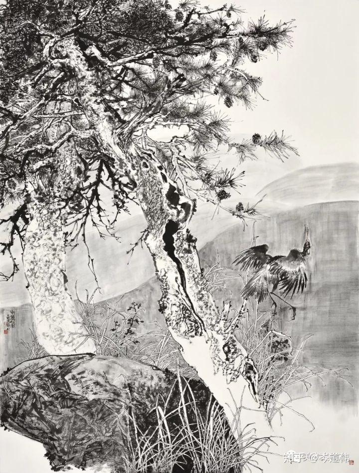 正文  2017作品《春华秋实》入选尚意2017全国中国画(写意)作品展图片