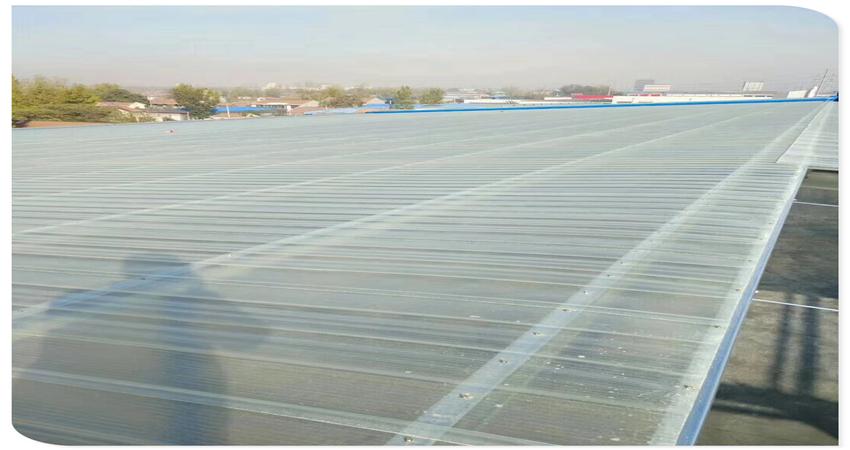 选择FRP采光瓦作为屋面防腐采光瓦的好处