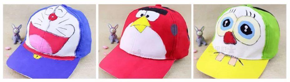 政务 正文  暑期趣味活动 夏日清凉手绘鸭舌帽 diy 以创意为重点,以