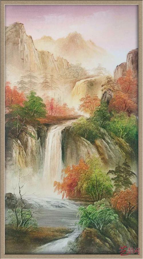 张治山中国新派油画作品欣赏