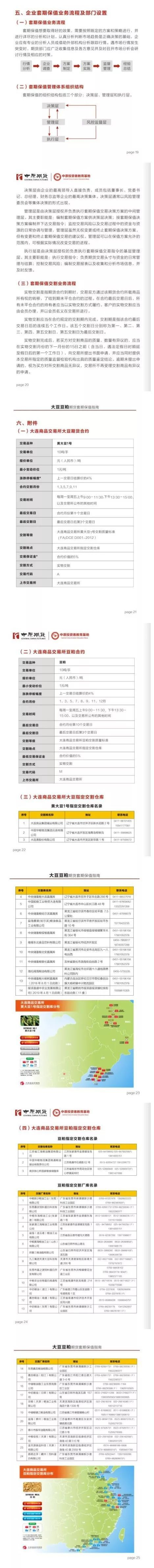 【新书连载】大豆豆粕期货 套期保值指南(三)