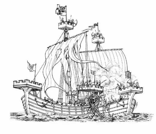 逆袭的舰队:那些化身木头城墙的古代海军_中国海军哪_图片