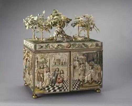 香港纪伯伦国际拍卖行-古代珠宝首饰盒丨极尽奢华与精巧