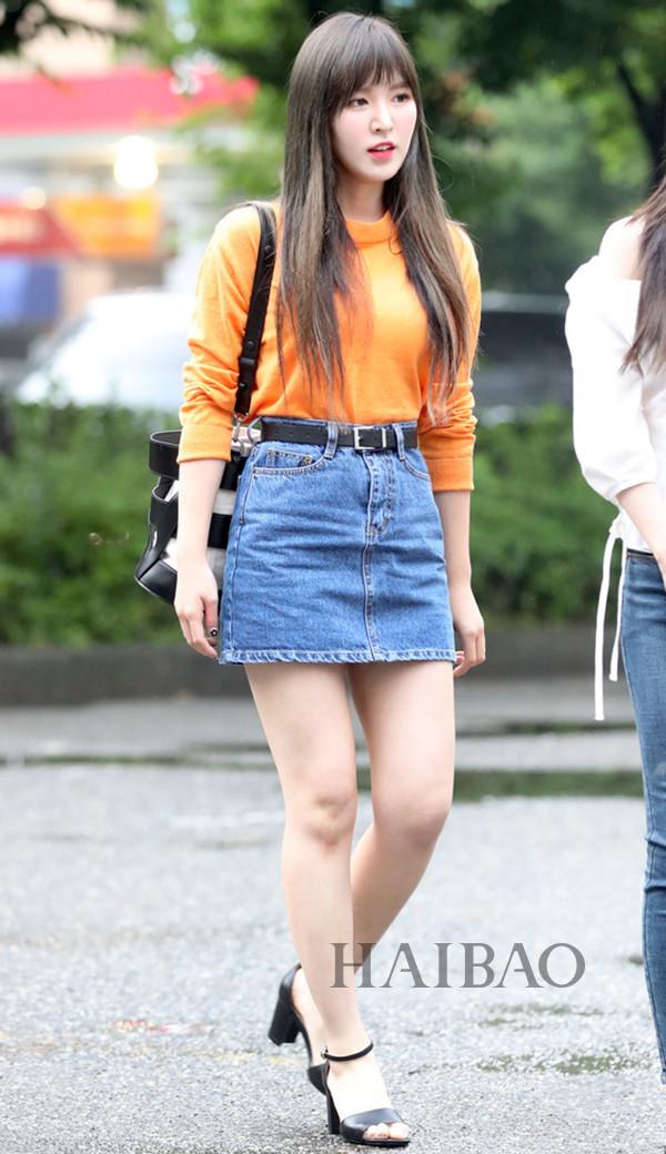 生活中淡妆的韩佳人更美,秀智怎么做到的秒瘦?海报时尚网最新韩国女明星街拍(6.1