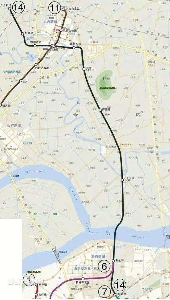 重磅 江北副中心规划出炉,新建过江地铁 24所学校,影响所有人