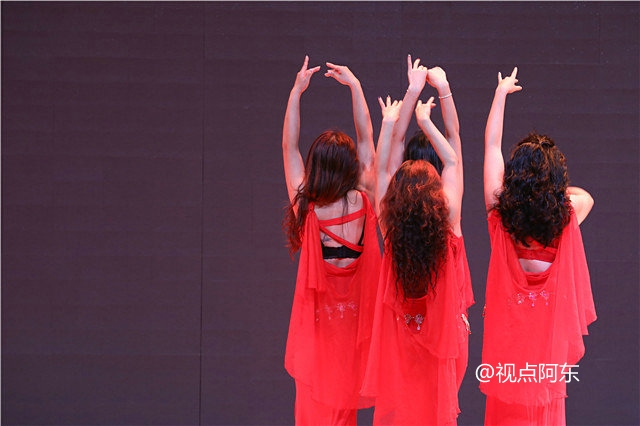 第二届丝绸之路东方舞艺术节华丽落幕  众美女献艺大饱眼福 - 视点阿东 - 视点阿东