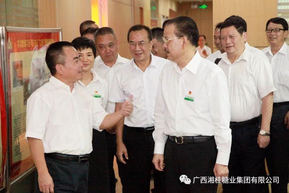 富宁县蔗糖产业领导小组莅临湘桂集团、永鑫集团考察交流