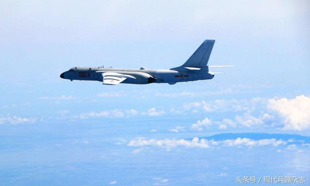 图-16魔改版60年后重返梁赞 中国空军轰-6K再显战神之威