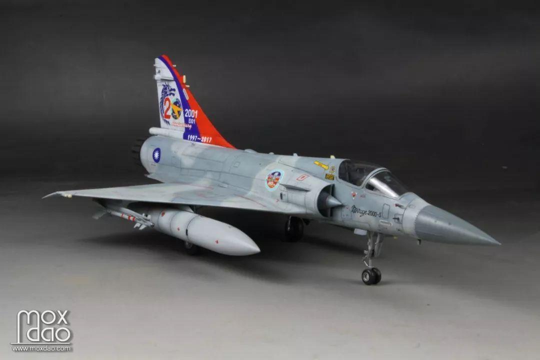 天力 1/48台湾空军幻影2000-5战斗机   模型作品