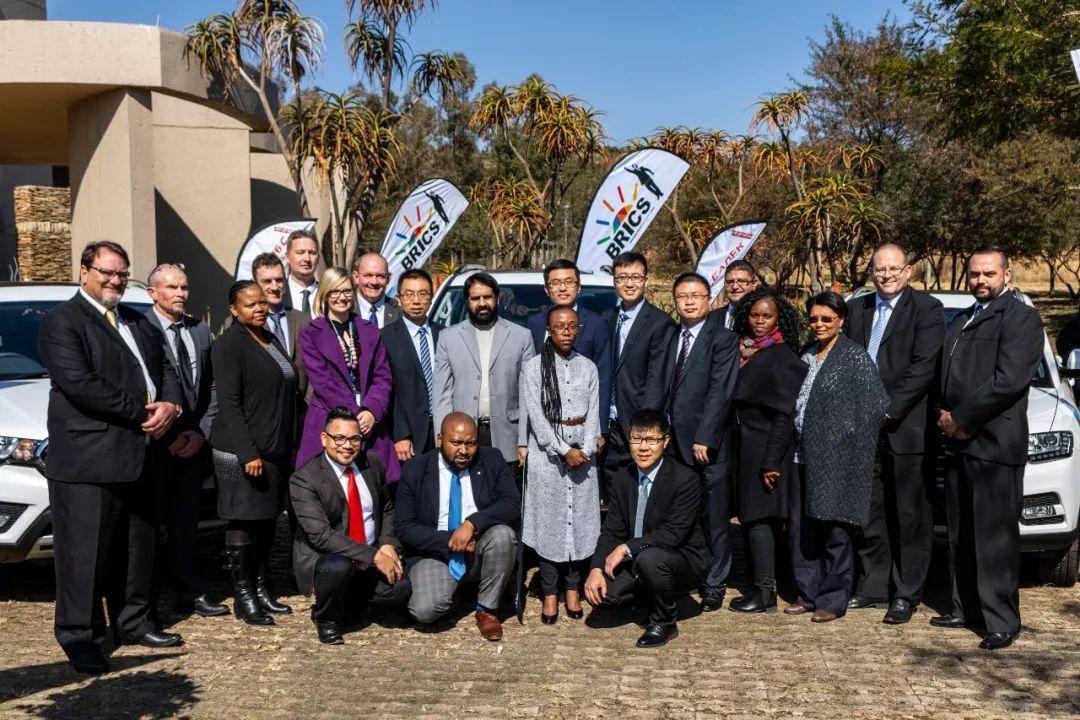 """""""中国制造""""再次扬名海外,哈弗成为南非金砖峰会指定用车。"""