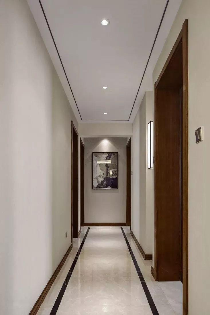 走廊装饰地板砖波导线
