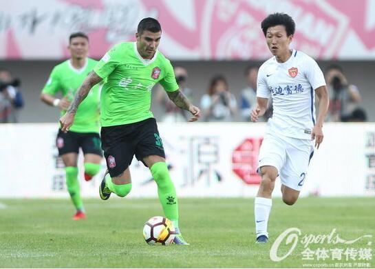 中甲综述-绿城0-0梅州 辽足2-1逆转 延边0-0平新疆