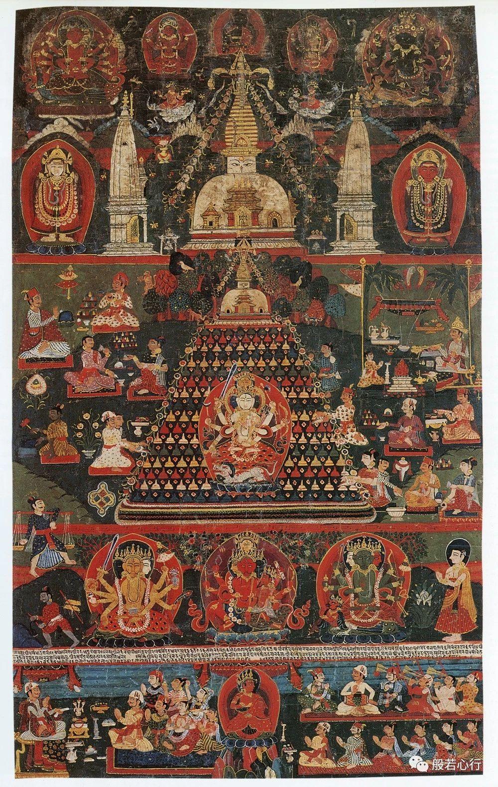 拉克夏(Laksha)寺庙献祭(上)—《极乐之轮:佛教冥想艺术》