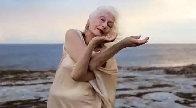 【欣赏】全球最美的女神,100岁的她舞蹈惊艳了世界