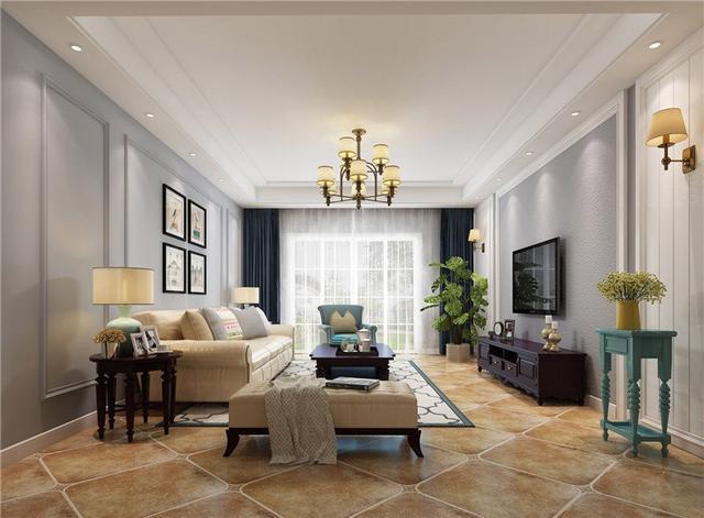 128平米的房子装修只花了6万,欧美风情风格让人眼前一亮!