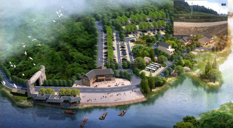 建设发展3项目 ① 黑衣壮古寨旅游度假区 ③ 旅游集散中心 三