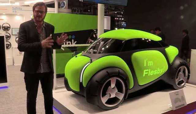 [原创]日本造出橡胶车,以后开车不怕撞了,碰碰车的时代要来了?(图)