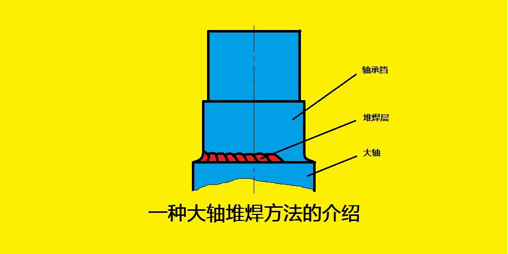 一种大轴堆焊的好方法