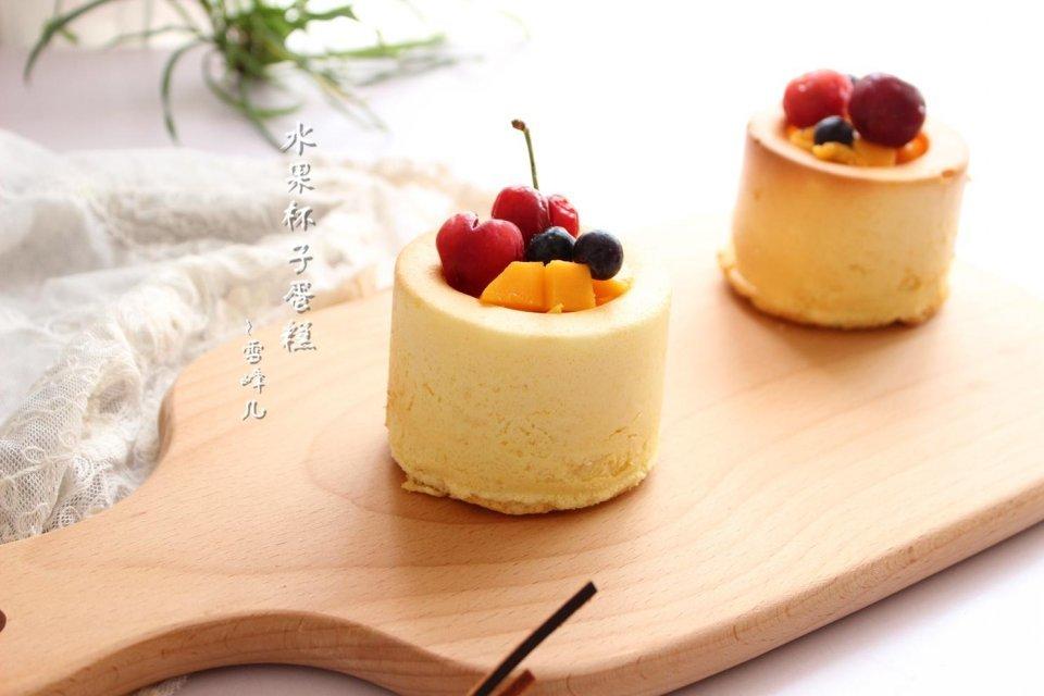 [原创]这个蛋糕真简单,可以用来装水果和酸奶,好拿好吃太棒了(图)
