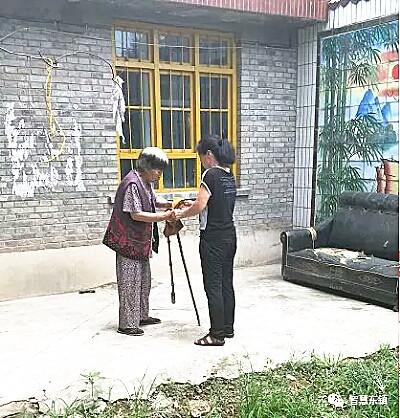 闻喜东镇杨丽花助人行善人人夸