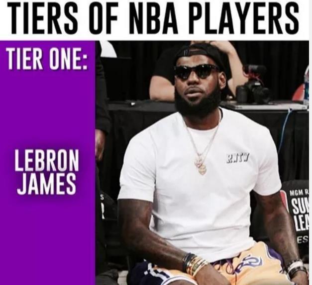 美媒体把NBA球星分三档,哈登三档保罗仅四档!