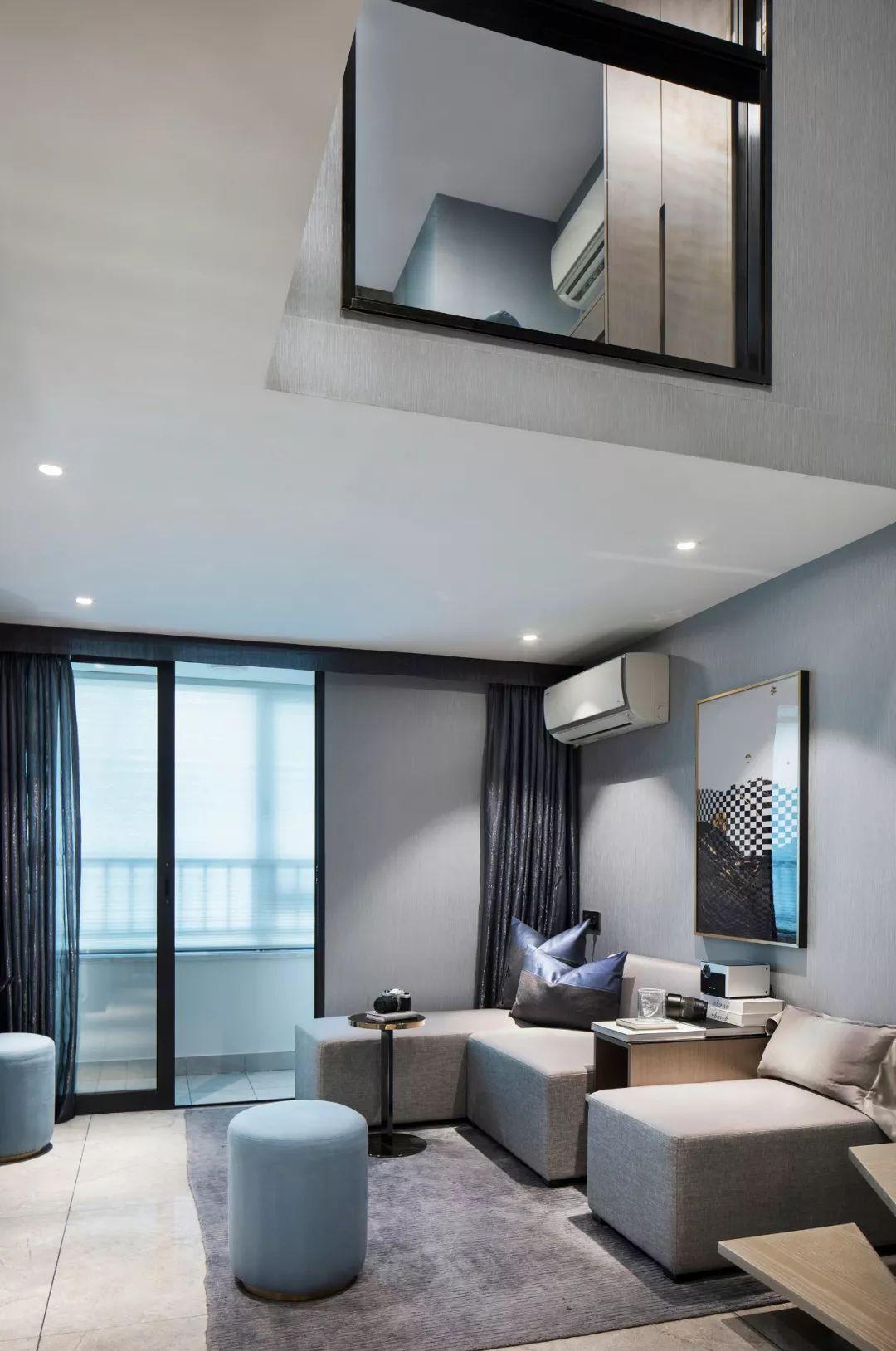 3套简约雅致loft公寓样板房设计方案,设计师以最平凡简洁的方式营造最