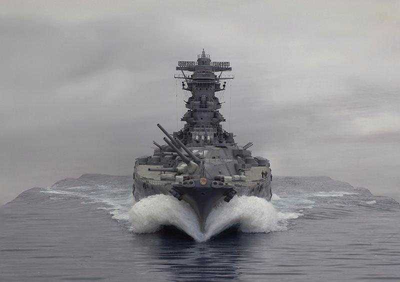 [原创]二战日军超级战舰的最终归宿,全部葬身海底大快人心(图)