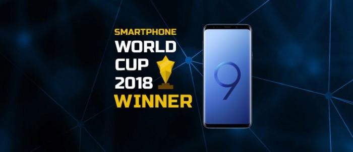 智能手机世界杯:三星Galaxy S9+夺得冠军