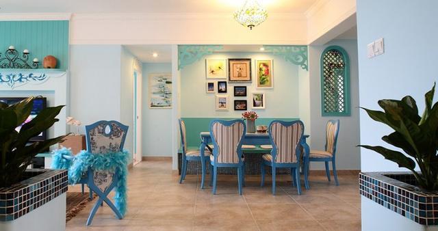 地中海风格三居室的房子怎么装修好看?装修达人给你示范!