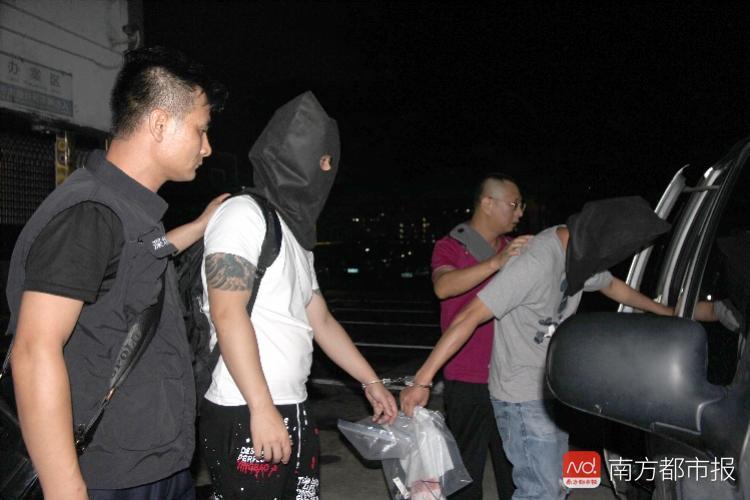 [原创]尖沙咀抢劫案5疑犯在深被抓 涉案价值2300万港元(图)