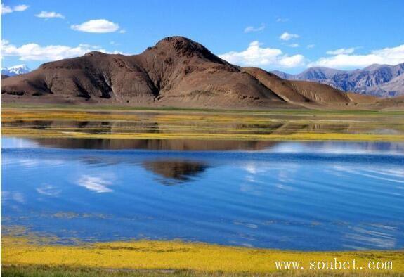 我国海拔最高的湖,纳木错湖比霍尔泊湖矮一大截