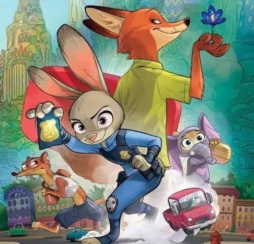 《平庸动物城》:兔子朱迪升职记!你还好意思疯狂?螺旋里蜗牛状的鱼缸图片